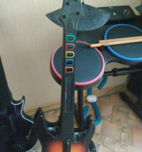 Геймпады для игры GuitarHero