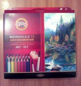 Акварельные карандаши koh-i-noor mondeluz