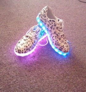 Led-кросовки