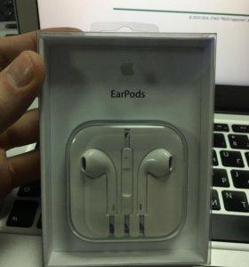 Apple earpods оригинал новые