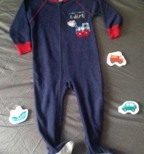 Слип / пижама Картерс на возраст 12-18 месяц
