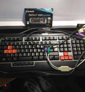 Игровая клавиатура А4TRCH X7