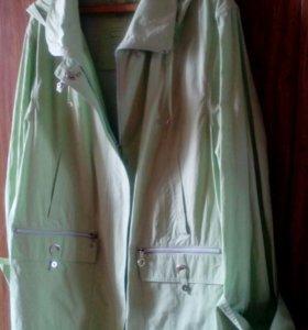 Куртка весенняя 60раз
