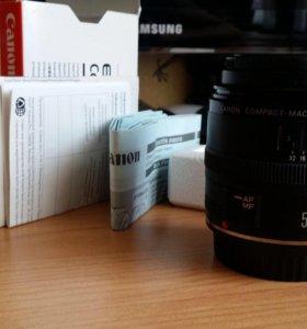 Canon EF 50mm f/2.5 Compact Macro новый