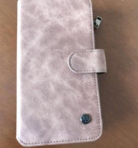 Чехол-кошелёк для iPhone 7+