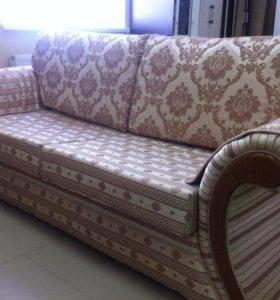 Новый набор мягкой мебели