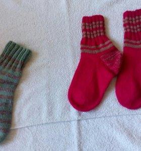 Носки ручной вязки (ж)
