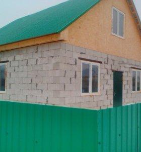 Дом и газоблока