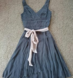 Шелковое платье премиум-бренда BCBG Max Azria