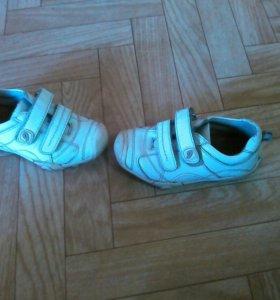 Натур.кожаные ботинки