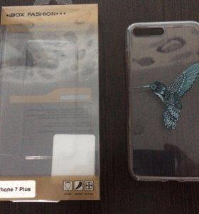 Новый силиконовый чехол iPhone 7 plus