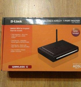 ADSL роутер c Wi-Fi D-Link DSL-2600U
