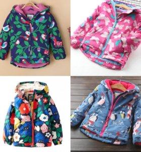 Тёплые куртки (98-110)