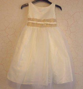 Нарядное платье, р.110-116