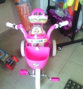 Велосипед музыкальный 2+