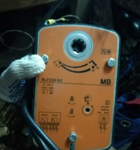 Электропривод противопожарного клапана BLF230
