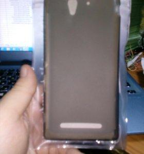 Силиконовый чехол Sony Xperia C3