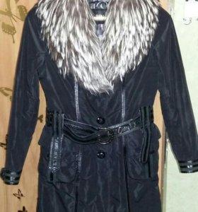 Пальто. Женское. Зимнее. На меху .