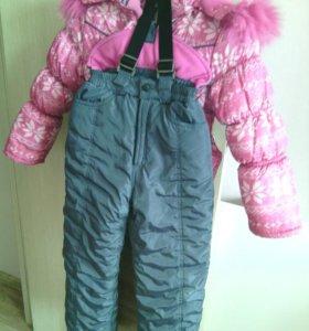 Зимний костюм детский 5-7 лет