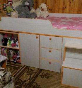 """Детская кровать """"Радуга-1"""""""
