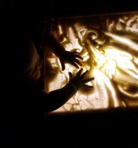 Световые короба для рисования песком