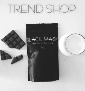 Чёрная маска для лица Black Mask by Helen Gold