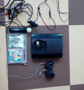 Продам PS3 на 500г,игры...