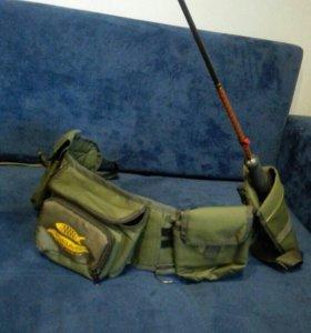 Сумка-пояс для рыбалки КИБАС