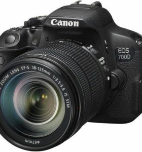 Фотоаппарат Canon EOS 700D Kit 18-135 IS STM Black