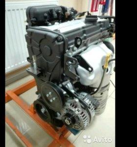 Двигатель новый Акцент хундай