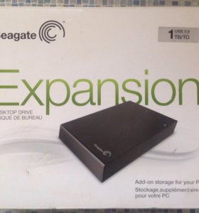 Настольный жесткий диск Seagate Expansion 1TB