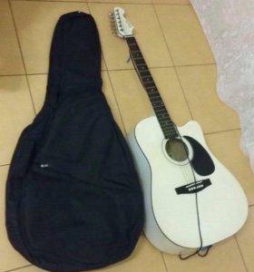 Продам акустическую гитару OPERA. В наличии чехол.