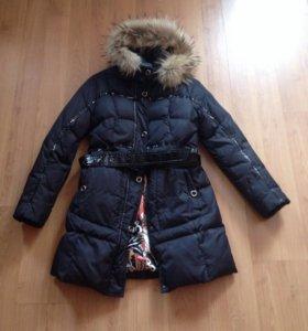 Пальто зимнее на пуху snow image