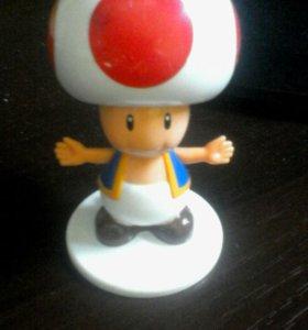Игрушка гриб из марио
