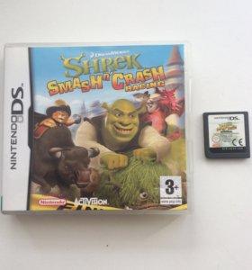 """Игра Nintendo DS """"Shrek"""""""