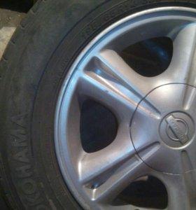 Комплект колес на лето 4*100
