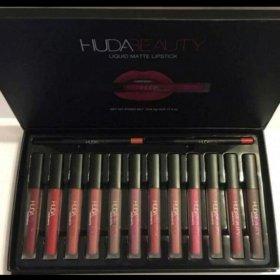 Набор матовых помад Huda Beauty