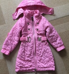 Куртка плащ на девочку