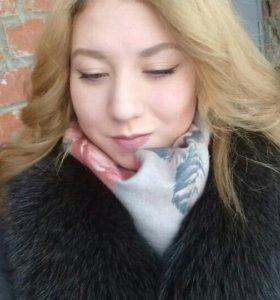 Пальто зимнее утепленное с мехом песца ❄❄❄