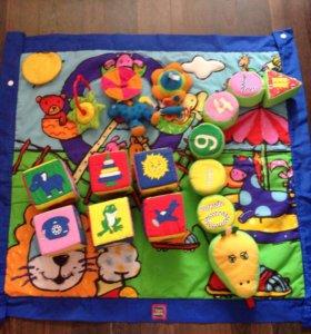 Коврик Tiny Love с игрушками