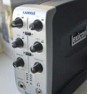 Домашняя студия звукозаписи LEXICON LAMBDA