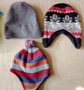 Шапочки,свитер,футболка.