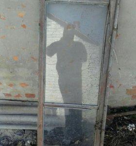 Рамы оконные со стеклом