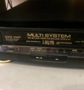 Видак с видео кассетами