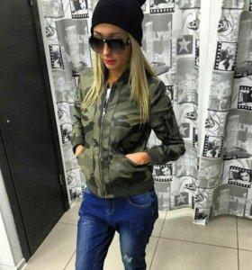 Куртка-бомбер женская.