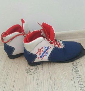 Ботинки для лыж.