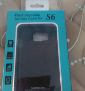Rechargeable battery case for S6.
