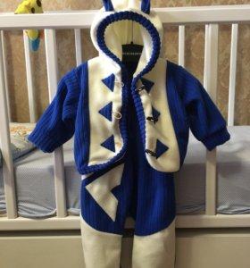 Комплект: курточка + комбинезон