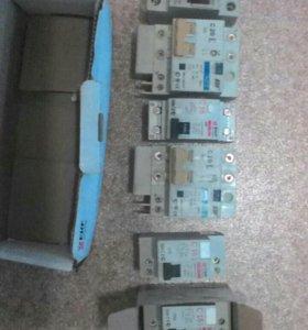 Дифавтоматы новые 16,20,25,32А и УЗО 380В 63А