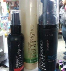 Набор для волос  Avon+ подарок: гель для душа